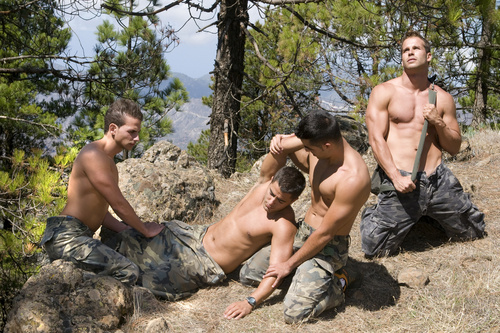 Hot Gay Military Sex 42