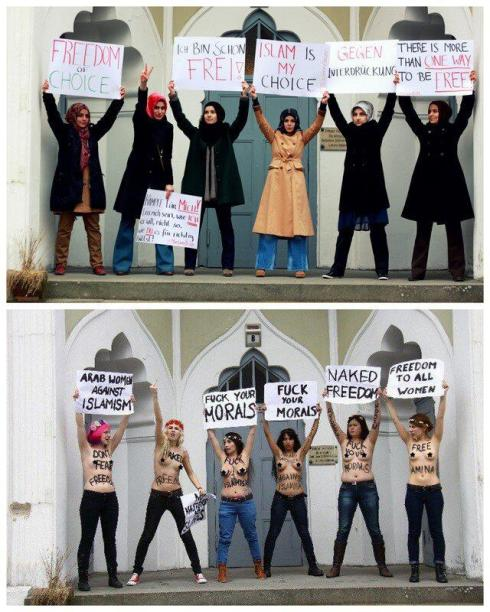 Femen - Ahmadiyya