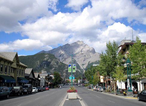 Kanada-Banff
